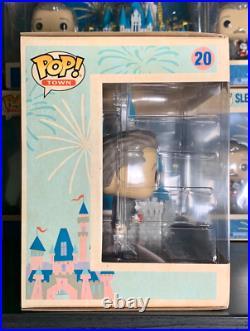 Funko Pop! Disneyland 65th Anniversary Sleeping Beauty Castle and Walt Disney