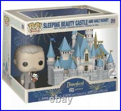 Funko Pop Disneyland 65th Anniversary Walt Disney And Mickey Sleeping Beauty