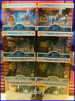 Funko Pop! Disneyland 65th Anniversary Walt Disney Sleeping Beauty Castle Mickey