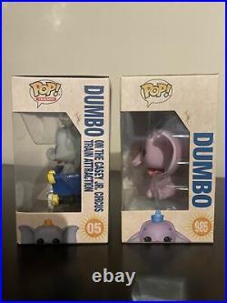 Funko Pop Dumbo Set (Purple And Circus) DisneyLand 65th Anniversary