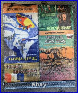 HARVEYS DISNEYLAND 60th Anniversary Poster Seatbelt Wallet NEW WithTAGS & BAG