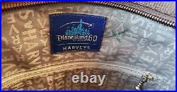 Harveys Disney Disneyland 60th Anniversary Enchanted Tiki Room Poster Tote VHTF
