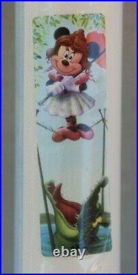 Haunted Mansion Disneyland 45th Anniversary Canvas Stretch Portrait Minnie Mouse
