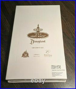 It's a small world Disneyland 50th Anniversary 5 Ornament Set