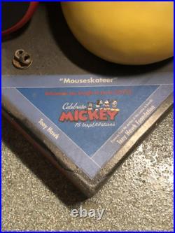 Lifesize Mickey Mouse Statue 75 Anniversary Disneyland Disney DCA Prop Display