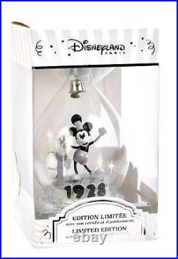 Limited Edition Mickey Mouse 90th Anniversary Christmas Bauble, Disneyland Paris