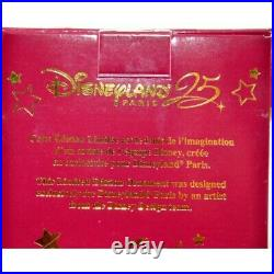 Limited Edition Mickey and Minnie Bauble, Disneyland Paris 25th Anniversary