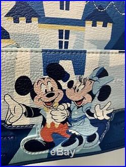 Loungefly Disneyland Disney 65th Anniversary Mini Backpack IN HAND Ships Free