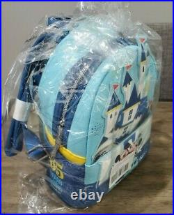 Mickey & Minnie Mouse Mini Backpack Disneyland 65th Anniversary In Hand