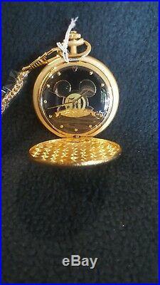 Mickey Mouse Disneyland 50th Anniversary Pocket Watch