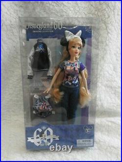 NEW Disney Disneyland Diamond Celebration 60th Anniversary Barbie Doll NRFB