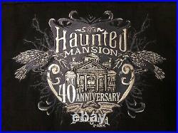 NEW HTF Lim Ed. Disneyland, Haunted Mansion 40th Anniversary Event, Large Jacket