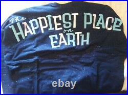 NWT DISNEYLAND 65TH ANNIVERSARY HAPPIEST PLACE ON EARTH SPIRIT JERSEY size XL
