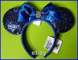New with tags CLUB 33 Minnie Mouse Ears Disneyland 65th Anniversary