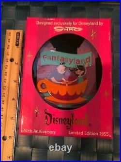 RARE Disney Disneyland Shag 50TH Anniversary LTD ED 1955 Jumbo Pin SET OF 5 NIB