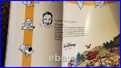 RARE MINT Disneyland ERROR MAP 40th Anniversary 1995 E Disney Magic Kingdom Wall