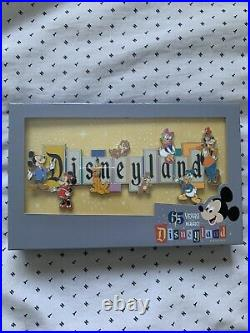 READY TO SHIP Disneyland Marquee 65th Anniversary Boxed Jumbo Pin LE 1000