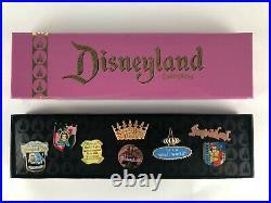 Rare Disneyland 50th Anniversary Fantasyland Pin Set LE 1500 MINT