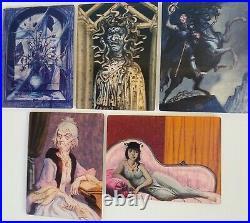 Rare Disneyland Haunted Mansion 30th Anniversary Event Lenticular Set of 5