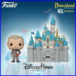 (Rare)Funko Pop Disneyland 65th Anniversary Walt Mickey Sleeping Beauty Castle