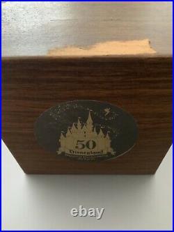 Rare LE Tinker Bell Figurine Disneyland Resort 2005 50th Anniversary
