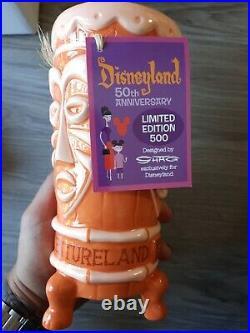 SHAG Disneyland 50th Anniversary Adventureland Tiki Mug Limited 500 NOS