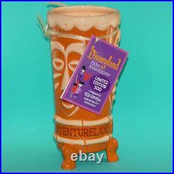 SHAG Disneyland 50th Anniversary Tiki Room Adventureland Mug Limited 500 NOS