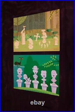 SHAG Disneyland Haunted Mansion 40th Anniversary Postcards NEW Tin Set complete