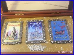 SHDR Limited 500 Disney pin box first anniversary shanghai disneyland exclusive