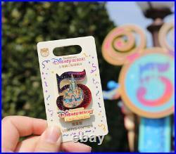 Shanghai Disney disneyland Pin LE 800 Castle 5th year anniversary Limited
