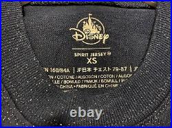 Shop Disney Parks Disneyland 65th Anniversary Spirit Jersey Glitter BNWT XS
