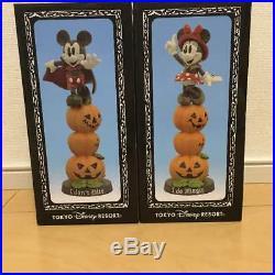 Tokyo DisneyLand Mickey Minnie Figure figurine 30th Anniversary Halloween