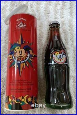 Tokyo Disneyland 15th Anniversary Bottle Coca-Cola Collaboration Vintage Rare
