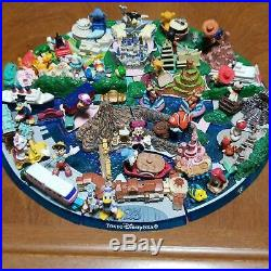Tokyo Disneyland & Disney sea Diorama Tokyo Disney Resort 25th Anniversary Used
