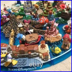 Tokyo Disneyland Disney sea Diorama figure Model mickey 25 Year Anniversary