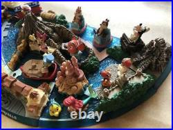 Tokyo Disneyland & Disney sea Figure Diorama complete SET 25th Anniversary