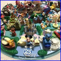 Used Tokyo Disneyland & Disney sea Diorama Tokyo Disney Resort 25th Anniversary